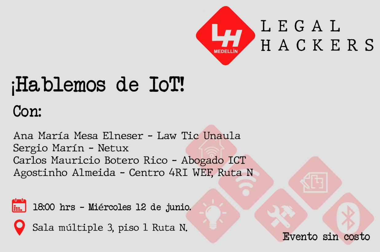 Hablemos de IOT - Legal Hackers