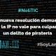 Otra nueva resolución demuestra que la IP no vale para culpar de un delito de piratería